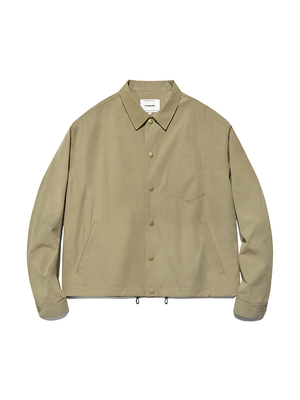 LIGHT JACKET IS [BEIGE]
