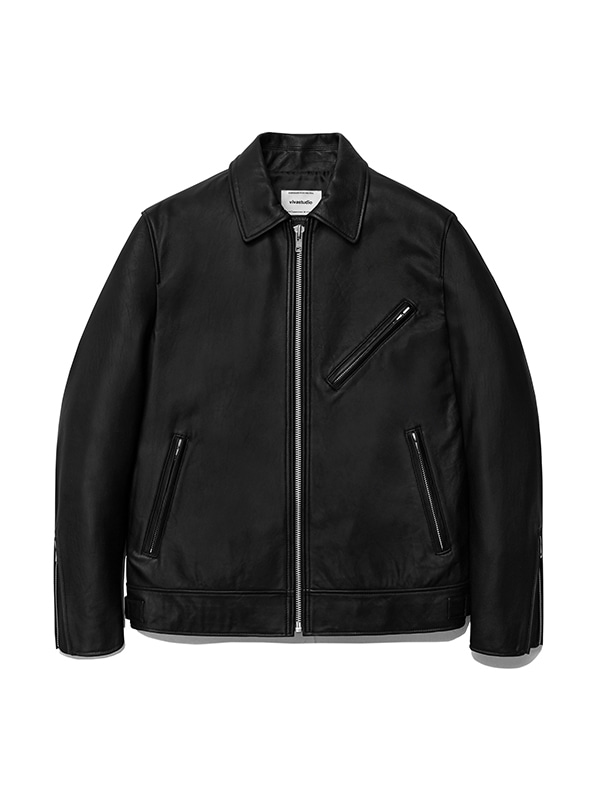 SINGLE RIDERS JACKET IA [BLACK]