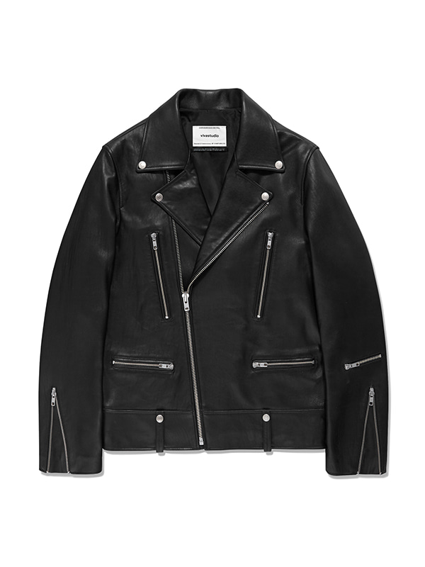 TERRY RIDERS JACKET IA [BLACK]