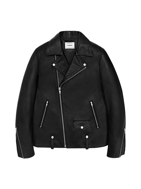 SIMPLE RIDERS JACKET IA [BLACK]