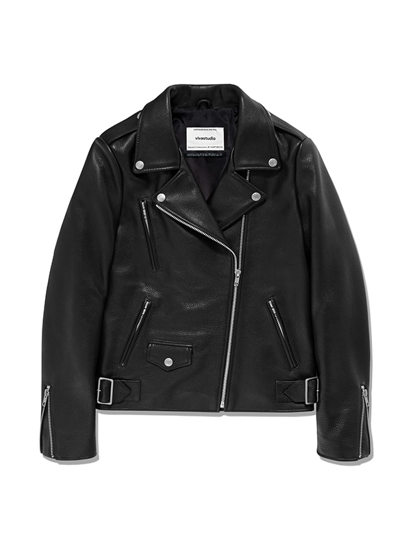 JANIS RIDERS JACKET IA [BLACK]