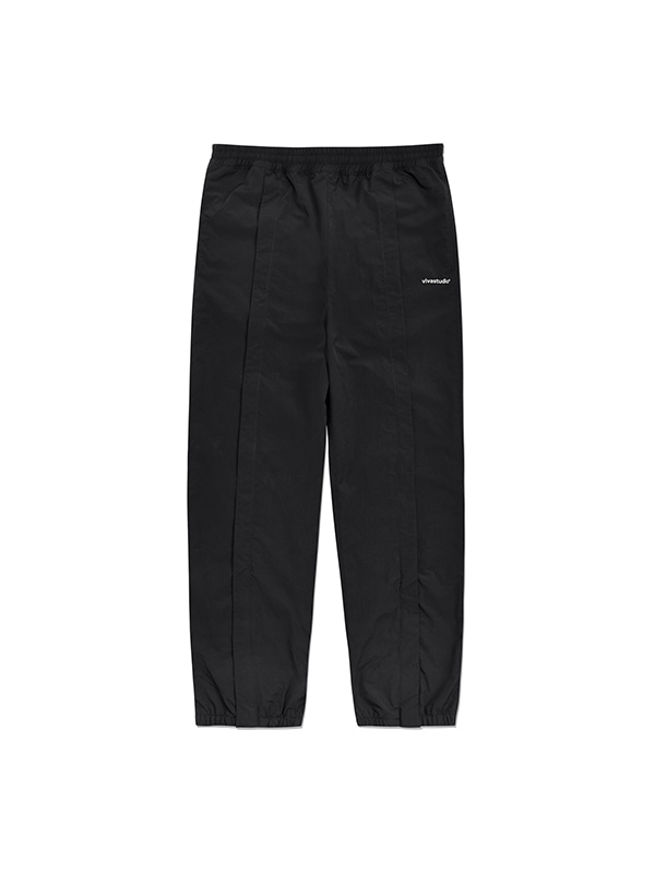 NYLON TRACK PANTS IA [BLACK]