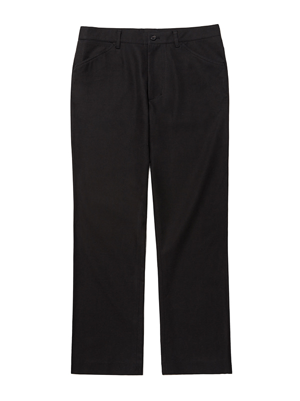 B-CUT CHINO PANTS JS [BLACK]
