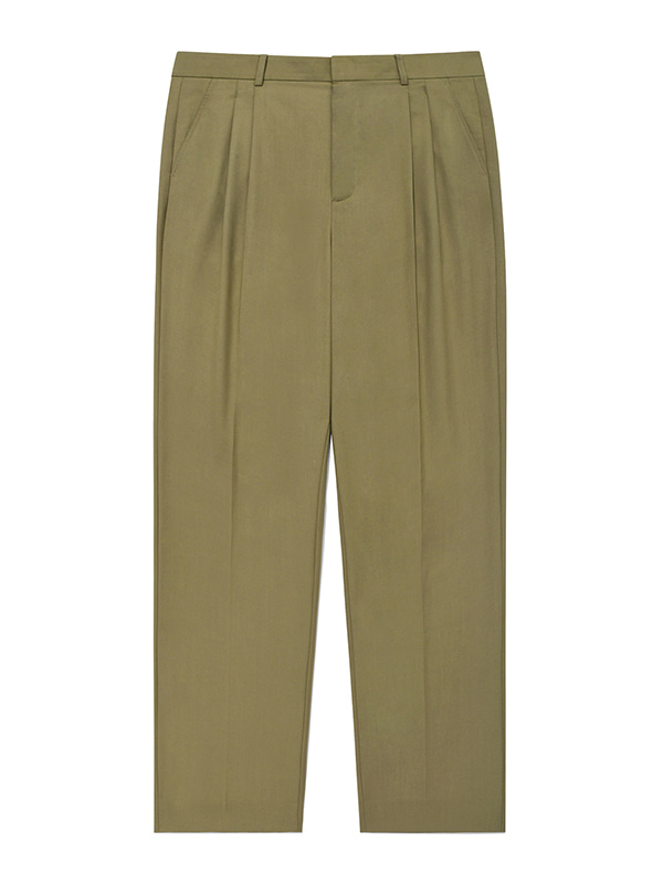 BALLOON SLACKS JA [KHAKI]