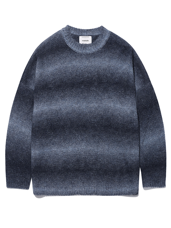 OVER FIT KNIT KS [NAVY]