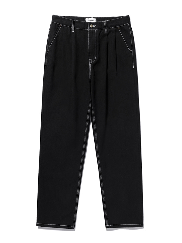 TWO TUCK JEANS KS [BLACK]