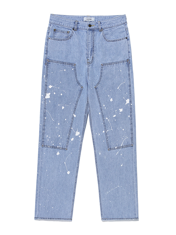 PAINTED JEANS KS [BLUE]