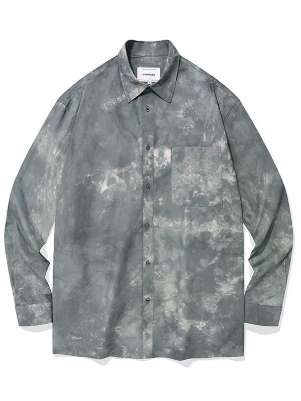 DYED SHIRTS KS [GREY]
