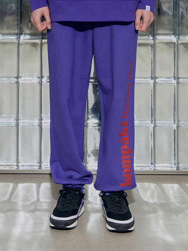 KOMPAKT SWEAT PANTS JA [PURPLE]