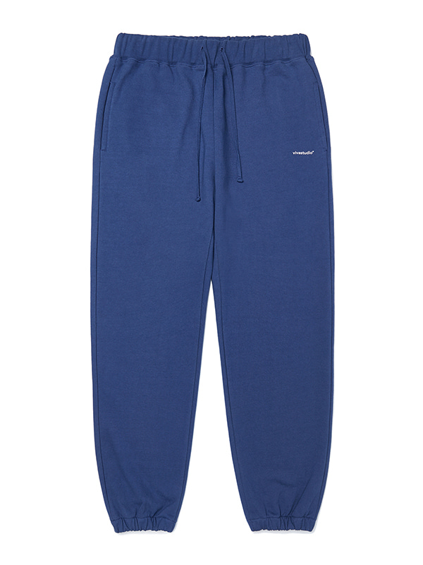 BASIC LOGO SWEATPANTS JA [INDIGO BLUE]