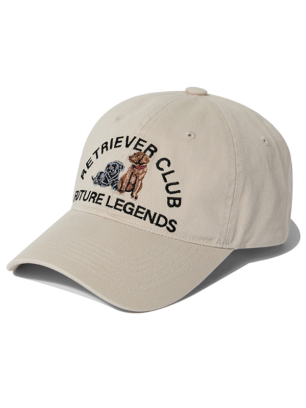 RETRIEVER EMBROIDERED CAP KS [BEIGE]