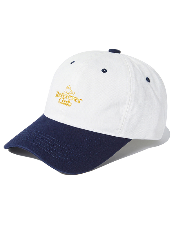 RC LOGO EMBROIDERED CAP KS [WHITE]